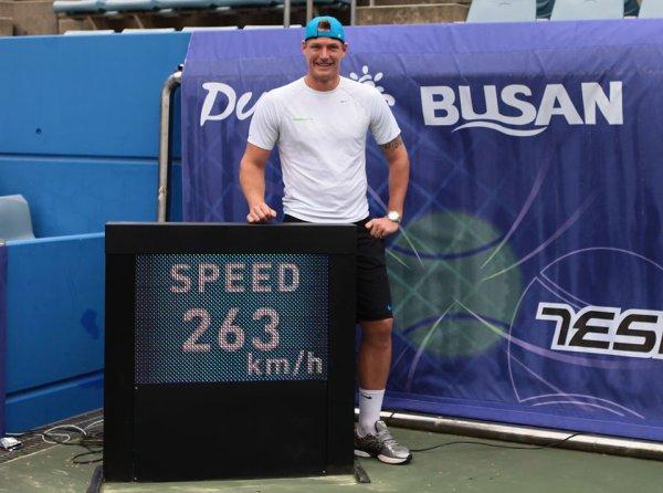 Samuel Groth : un service record à 263 km/h !