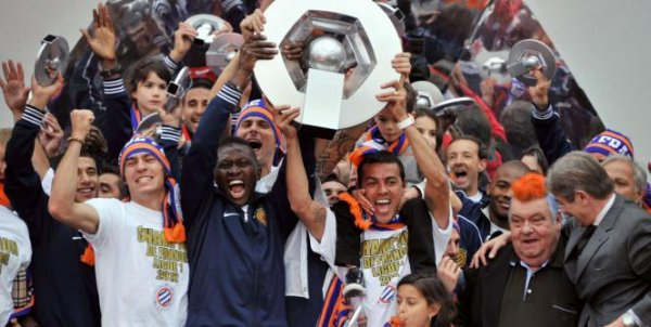 Montpellier champion de France