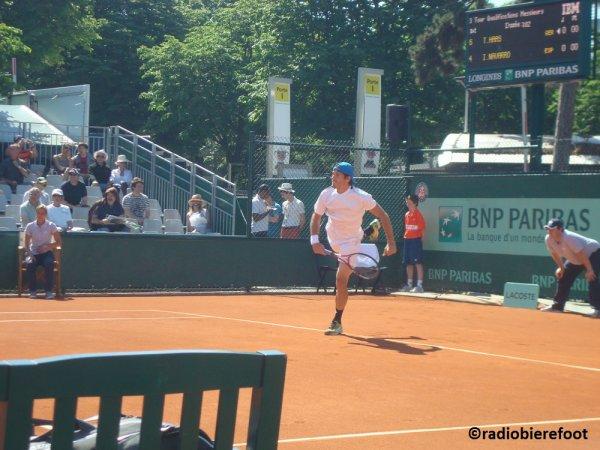 Jour de qualif à Roland-Garros