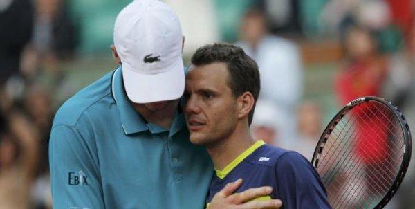 Roland-Garros : Mathieu sort Isner !