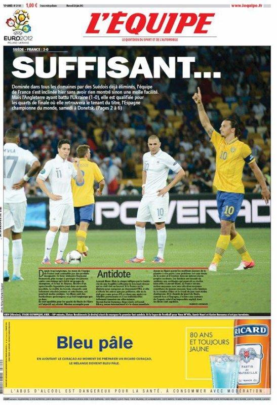 France-Suède : C'était quoi ce match ?