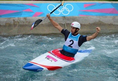 Jeux Olympiques : 4ème jour, Estanguet dans la légende