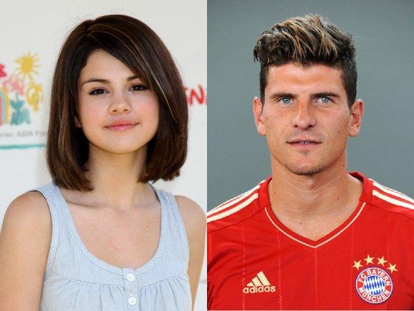 Le comparatif du jour : Mario Gomez / Selena Gomez