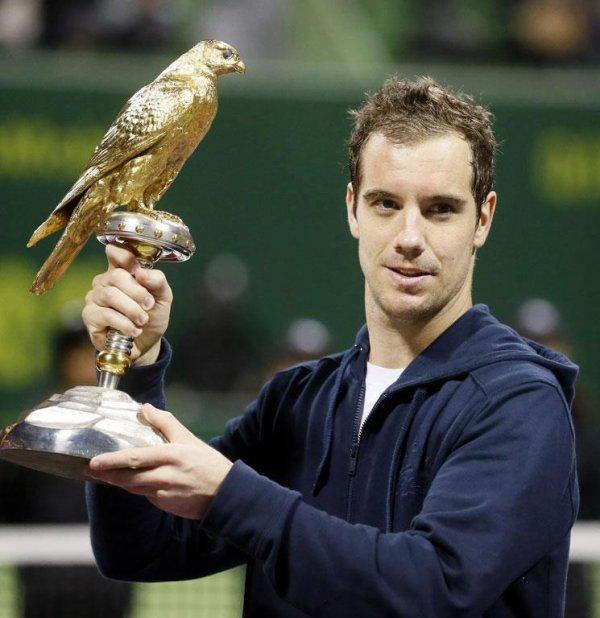 Tennis : Gasquet remporte le tournoi de Doha