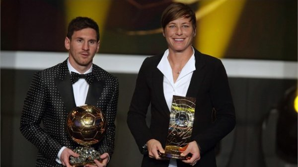 Ballon d'or 2012 : Messi, Wambach etc...