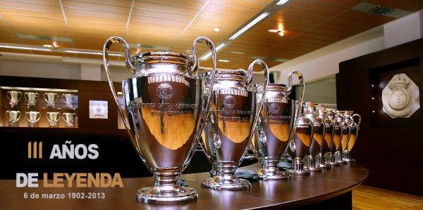 Joyeux anniversaire le Real Madrid !