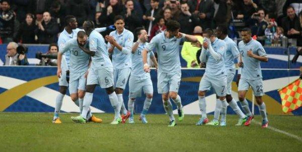 France - Géorgie : 3-1