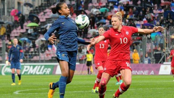 France - Canada : 1-1
