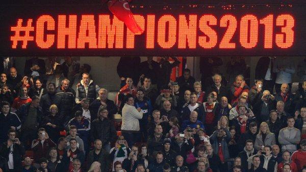 Premier League : 20ème titre pour Manchester United !