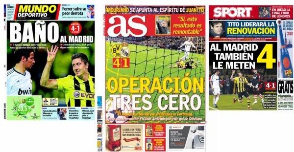 Ligue des Champions : Dortmund écrase le Real Madrid