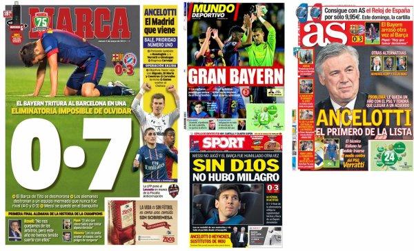 Ligue des Champions : le Bayern corrige le Barça, épisode 2