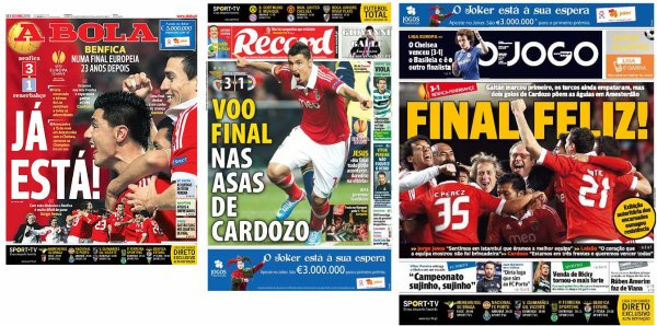 Ligue Europa : Benfica et Chelsea en finale
