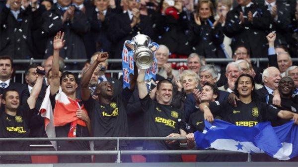 Wigan remporte la FA Cup !