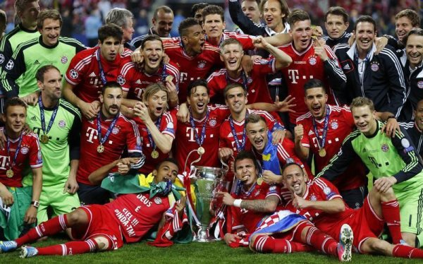 Le Bayern Munich remporte la Ligue des Champions 2013