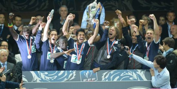 Bordeaux remporte la Coupe de France 2013
