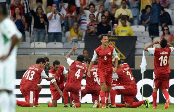 Coupe des Confédérations : Tahiti marque un but
