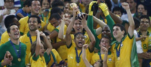 Coupe des Confédérations : le Brésil balaye l'Espagne