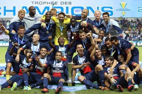 Trophée des Champions : le PSG bat Bordeaux