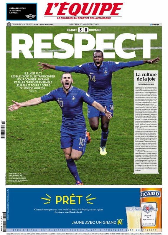 La France va au Brésil !