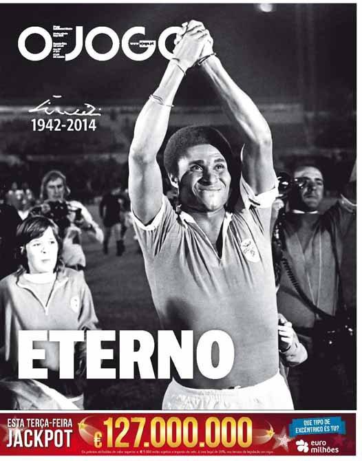 L'hommage de la presse portugaise à Eusébio