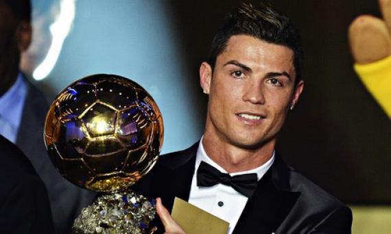 Cristiano Ronaldo : Ballon d'or 2013