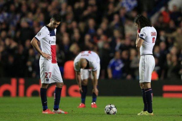 Ligue des champions : le PSG éliminé
