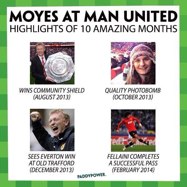 David Moyes licencié par Manchester United
