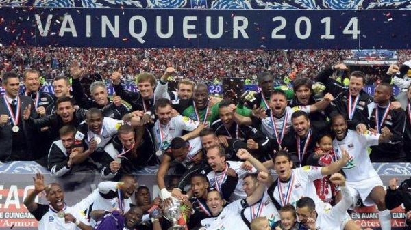 Coupe de France : victoire de Guingamp contre Rennes