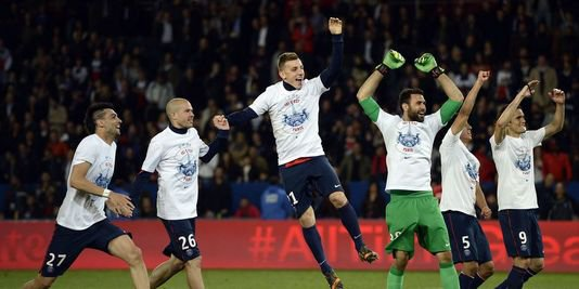 Le Paris Saint-Germain champion de France 2014