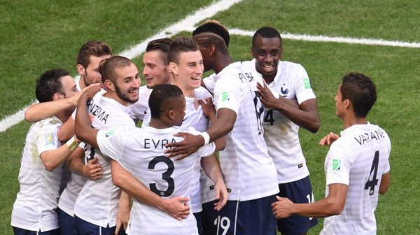 Coupe du monde 2014 : France-Nigeria, 2-0