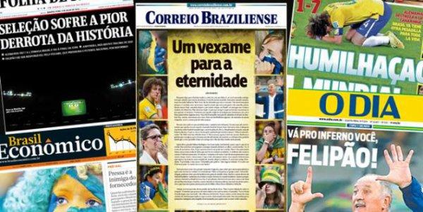 Coupe du monde 2014, Brésil-Allemagne : revue de presse