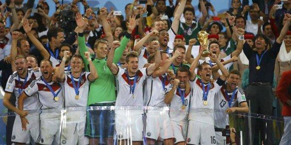 Coupe du monde 2014 : Victoire de l'Allemagne