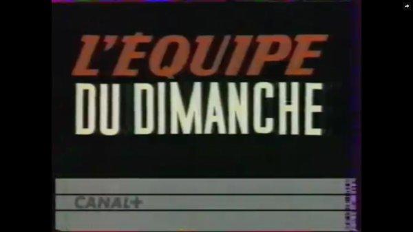 Hommage à L'Equipe du dimanche (1990-2016)