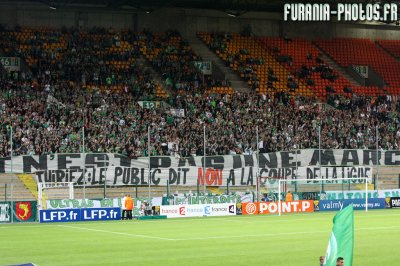 C. Ligue : Saint-Etienne - Nice : 2-0