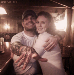 Jeff Hardy with Elizabeth Britt
