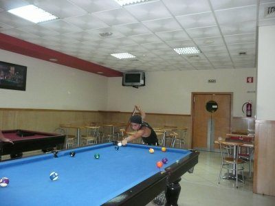 Tape le billard au Portugal !!