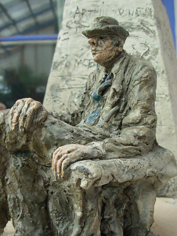 Perret-Gentil L'homme assis