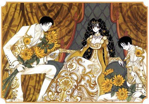 ♥Domeki, Himawari et Watanuki♥