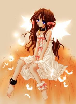 ♥ Ange orangée ♥