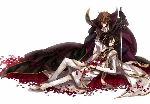 ♥ Suzaku et Lelouch ♥