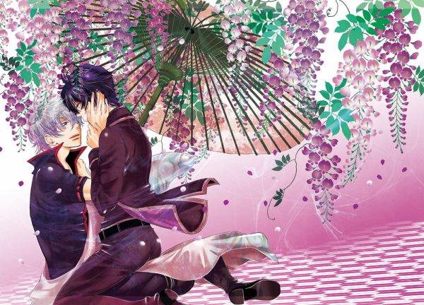 ♥ Couple et belles grappes fleuries ♥