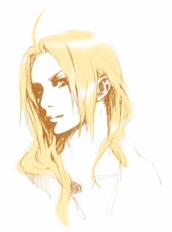 ♥ Portrait d'Edward Elric ♥