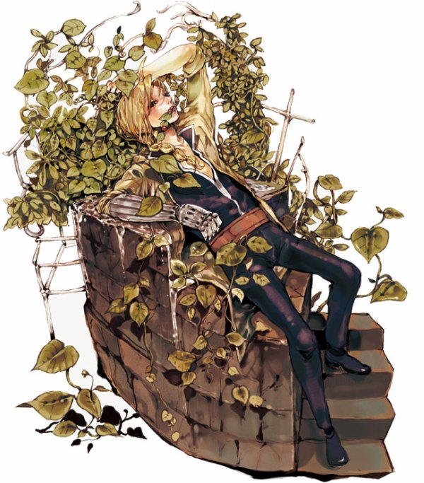♥ FMA -> Edward dans la nature ♥