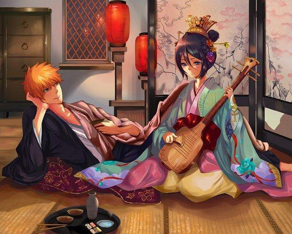 ♥ Ichigo et Zangetsu // Ichigo et Rukia ♥