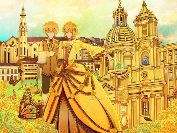 ♥ Rin et Len Kagamine ♥