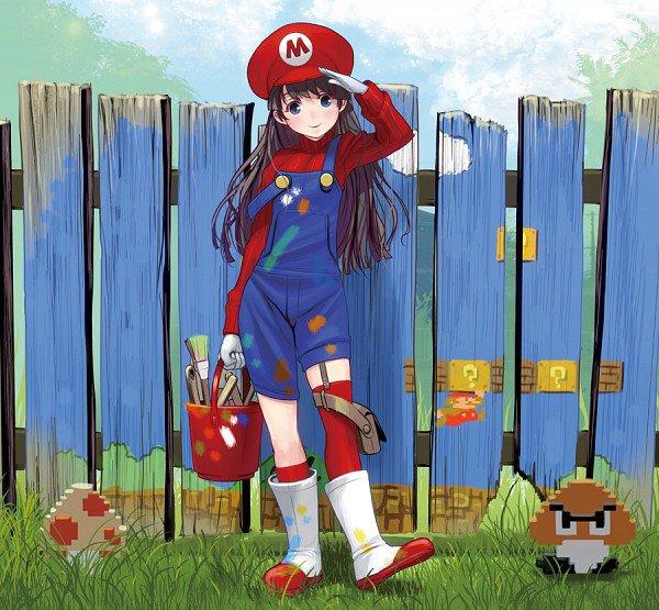 ♥ Mademoiselle Mario ♥