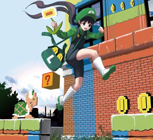 ♥ Mademoiselle Luigi ♥
