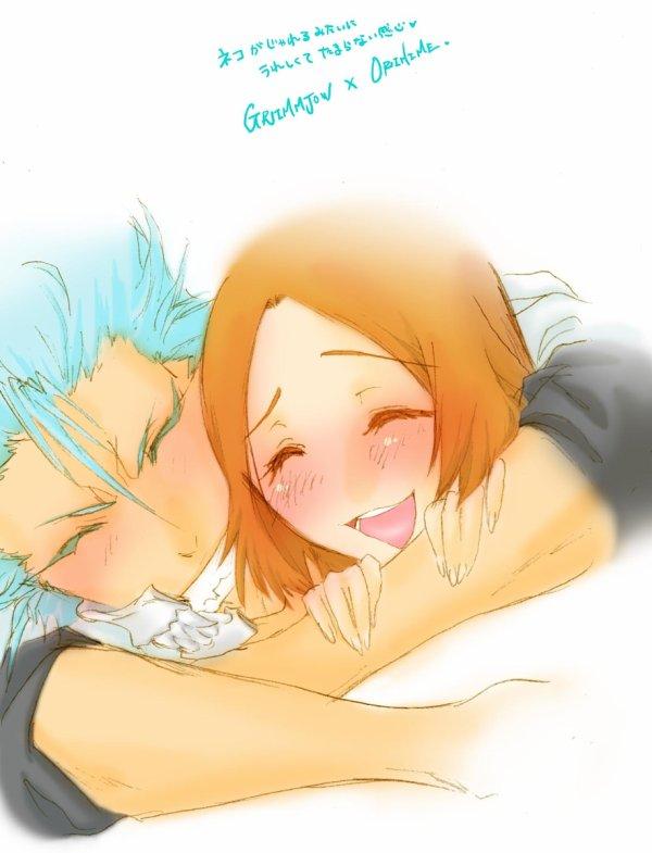 ♥ Orihime & Lovers: Grimmjow, Ichigo, Ulquiorra ♥