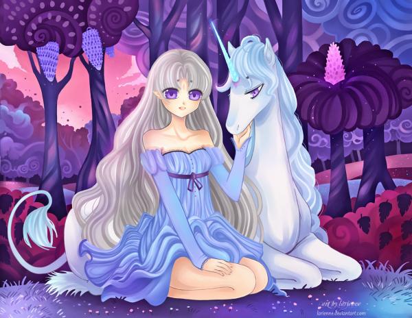 ♥ La dernière Licorne ♥
