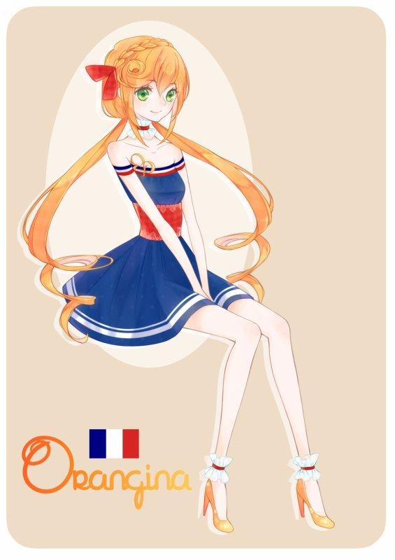 ♥ Mademoiselle Orangina ♥